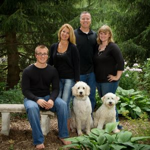 Family Portrait studio Webster NY